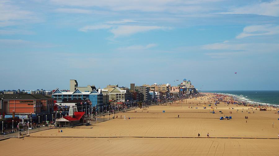 Ocean Photograph - Ocean City by Paulette Thomas
