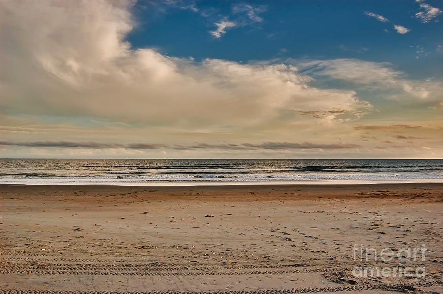 Ocean Photograph - Ocean Clouds by Scott Diffee