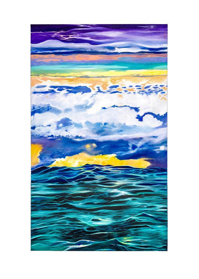 Ocean Painting - Ocean by Darren Mulvenna