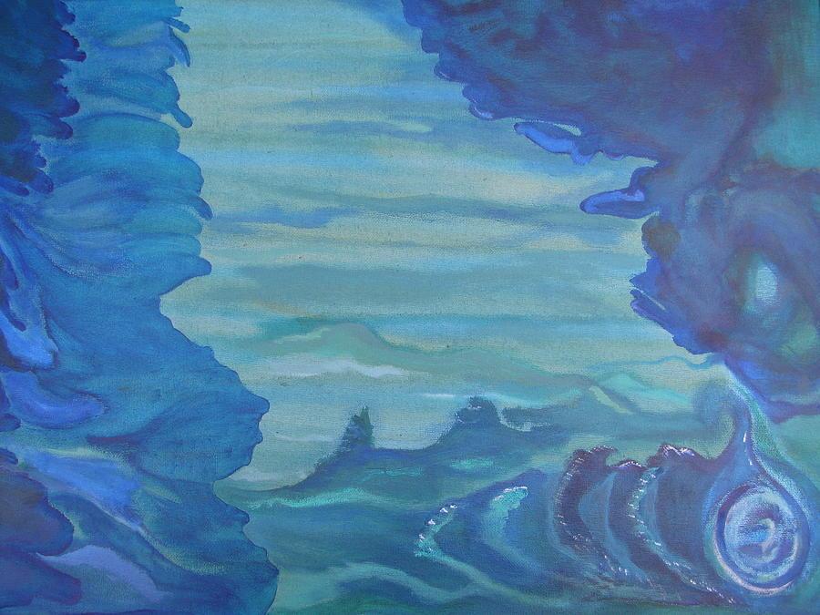 Ocean Painting - Ocean Dream by Lindie Racz
