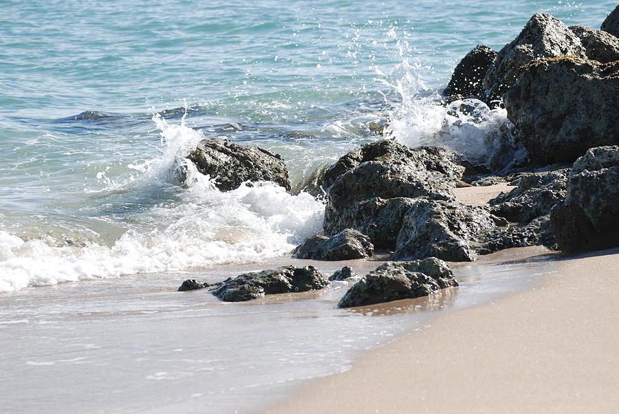 Ocean Photograph - Ocean Drive Rocks by Rob Hans