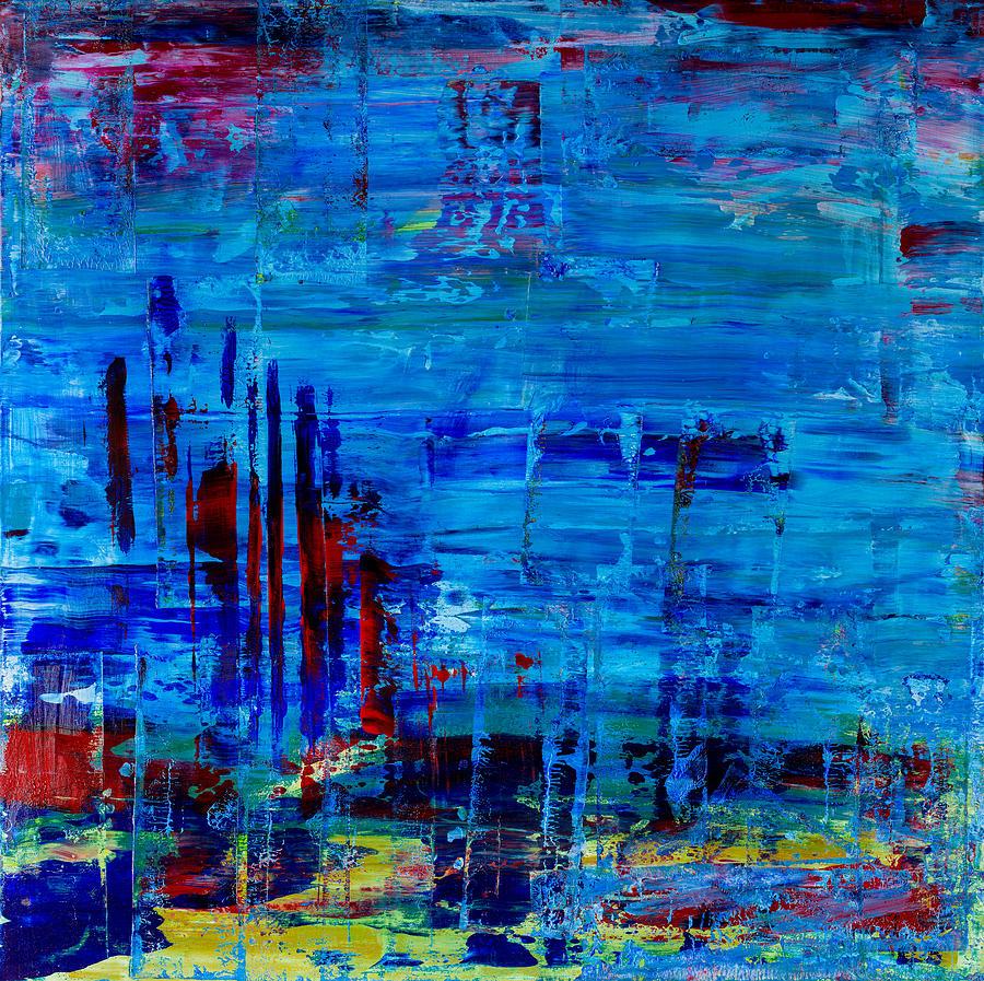 Ocean Floor Painting By Sean Corcoran - Ocean floor painting