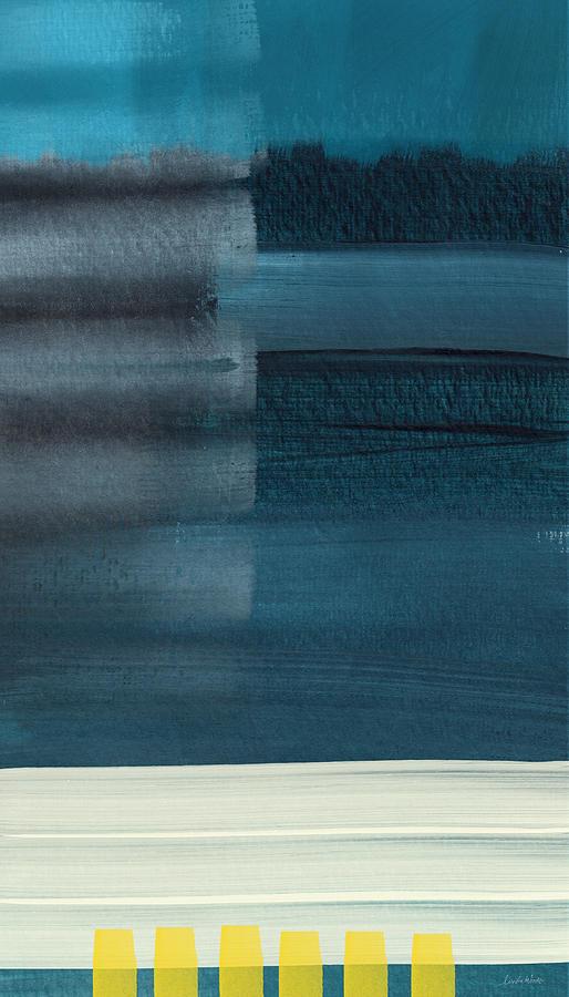 Ocean Front Walk 3- Art By Linda Woods Painting
