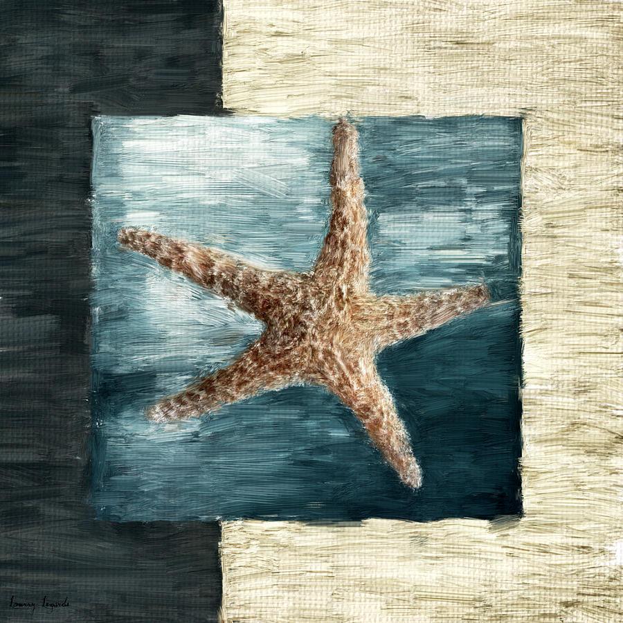 Shell Digital Art - Ocean Gem by Lourry Legarde