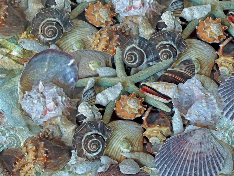 Ocean Gems 5 by Lynda Lehmann