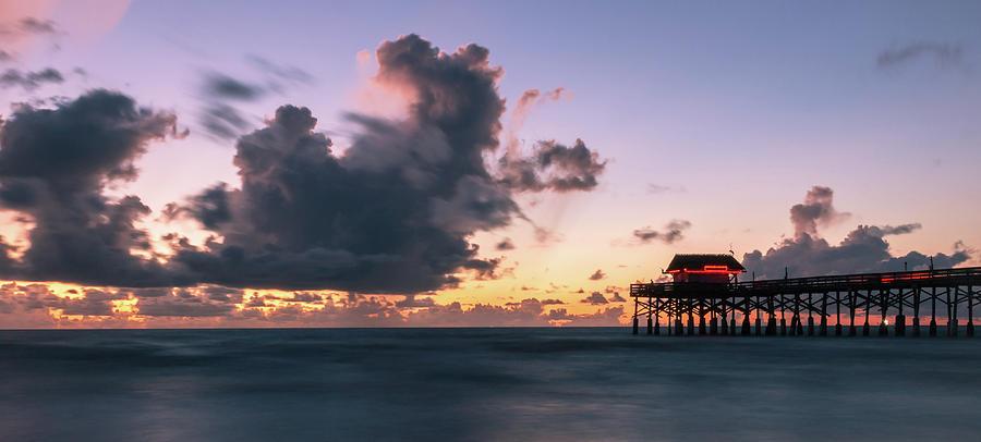 Sunrise Photograph - Ocean Greetings by Rob Wilson