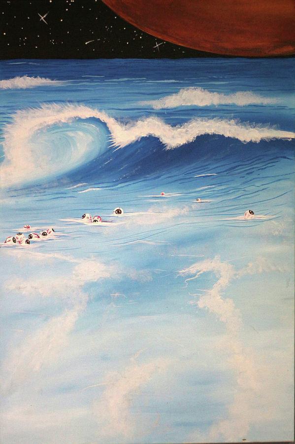 Abstract Painting - Ocean If Dreams  by Prakash Garg