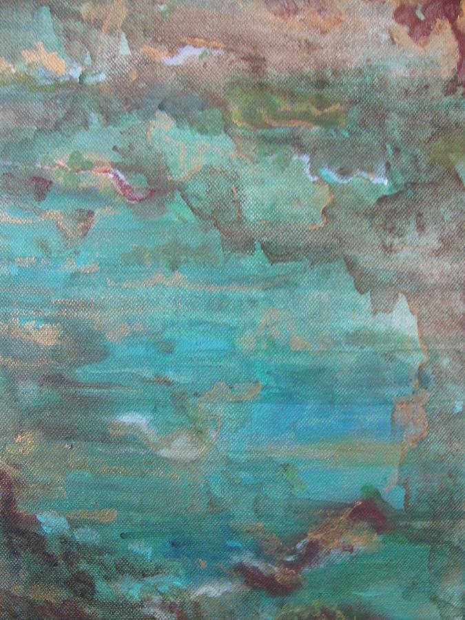 Ocean Painting - Ocean by Lindie Racz