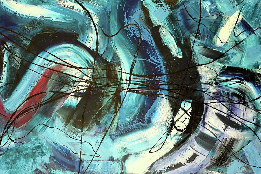 Ocean Painting by Martin Bush