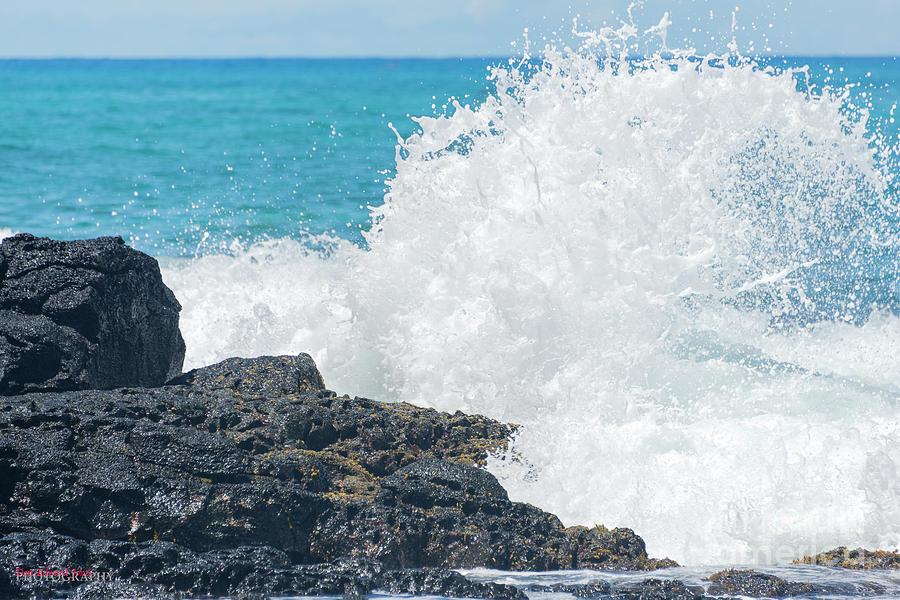 Ocean On The Rocks by Don Edward Jones