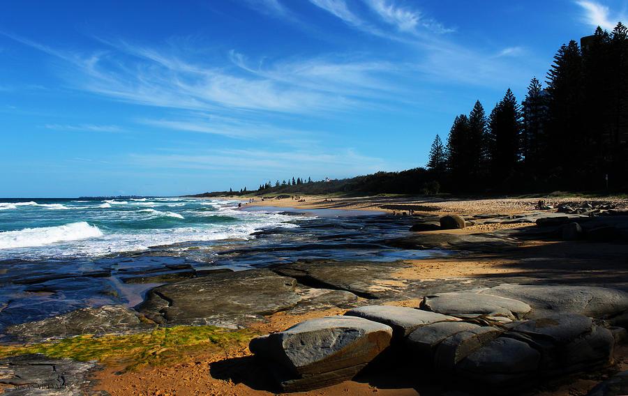 Wave Photograph - Ocean Perspective by Susan Vineyard