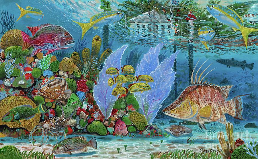 Ocean Reef Photograph - Ocean Reef Paradise by Carey Chen