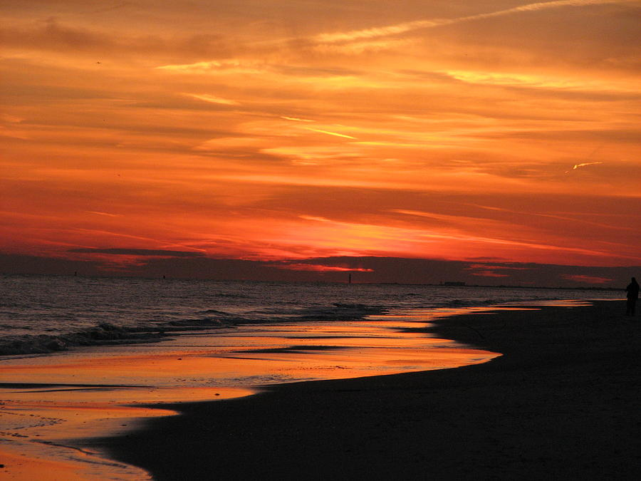 Ocean Reflection by SJ Lindahl