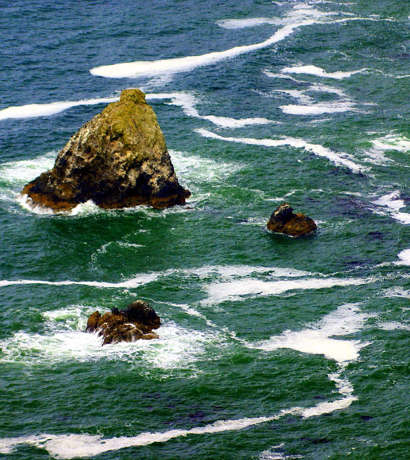 Ocean Photograph - Ocean Rock by Marty Koch