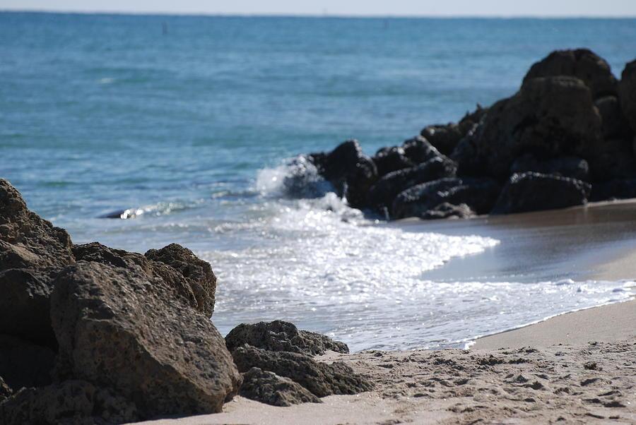 Ocean Photograph - Ocean Rocks by Rob Hans