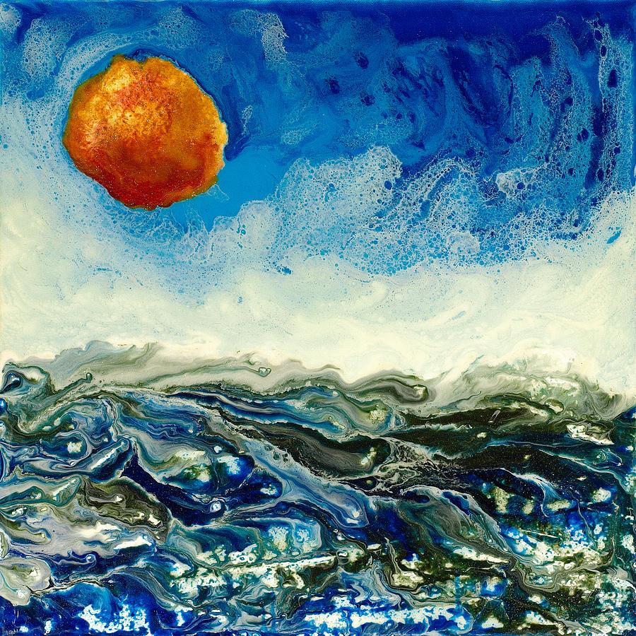 Abstract Painting - Ocean Run by Paul Tokarski