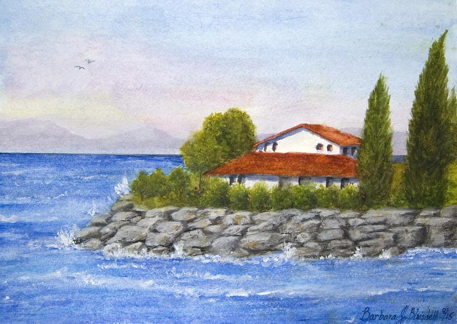 Ocean Scene  by Barbara J Blaisdell