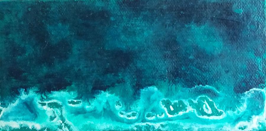 Ocean Storm by Sue McElligott