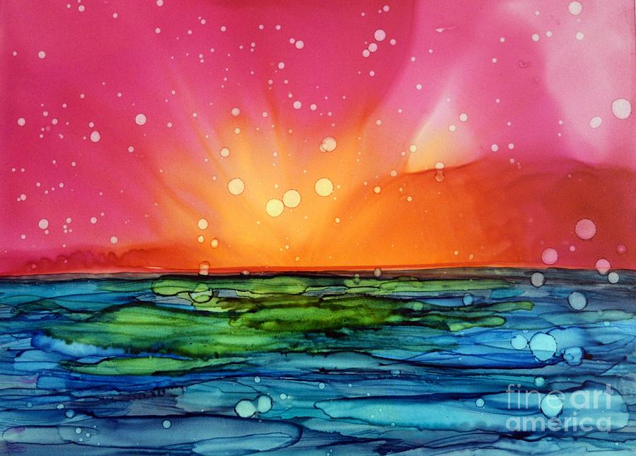 Ocean Sunrise by Beth Kluth
