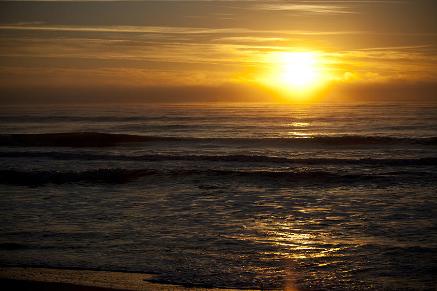 Sunrise Photograph - Ocean Sunrise by Christina Durity