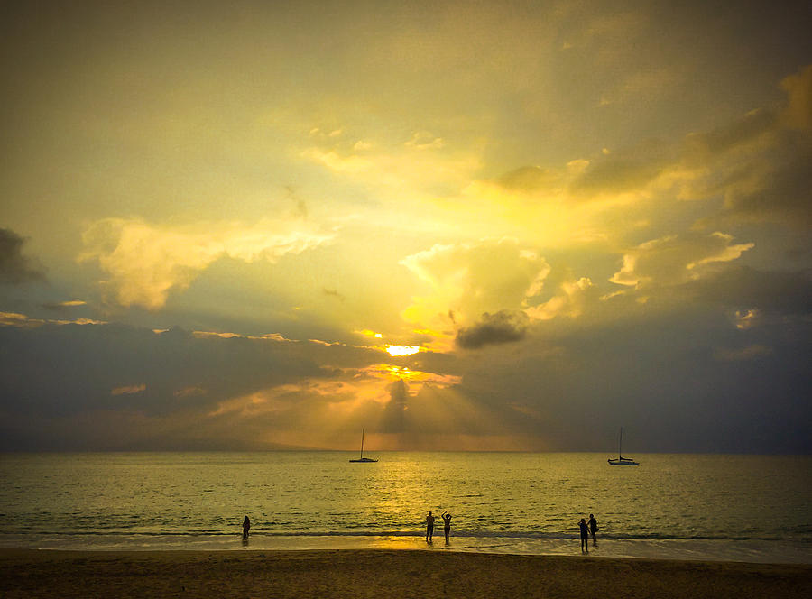 Ocean Sunset by Bob Mintie