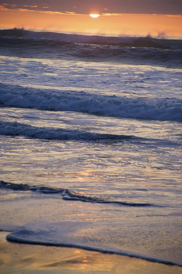 Ocean Photograph - Ocean Sunset by Joyce Sherwin