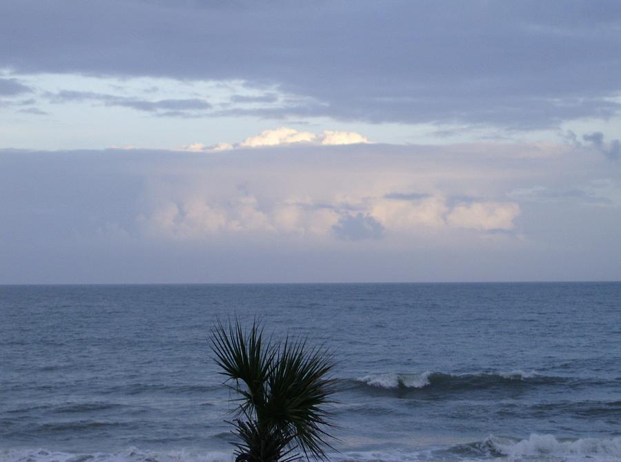 Ocean Photograph - Ocean Sunset by Linda Bennett