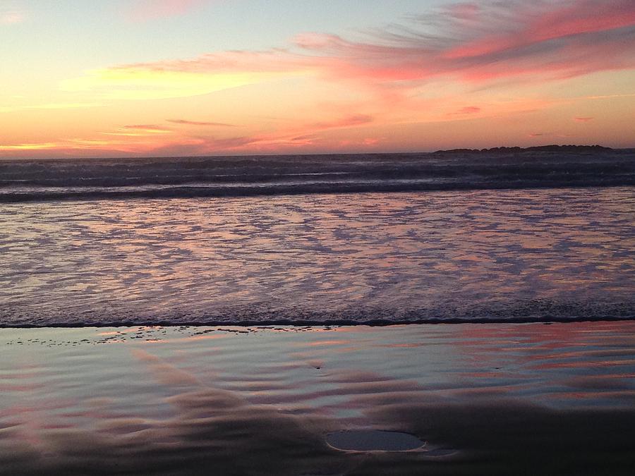 Ocean sunset by Shari Chavira