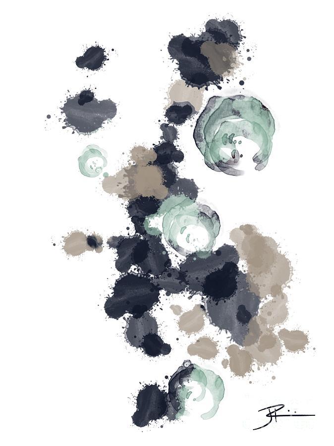 Ocean Digital Art - Ocean Vibes I by J Kinion