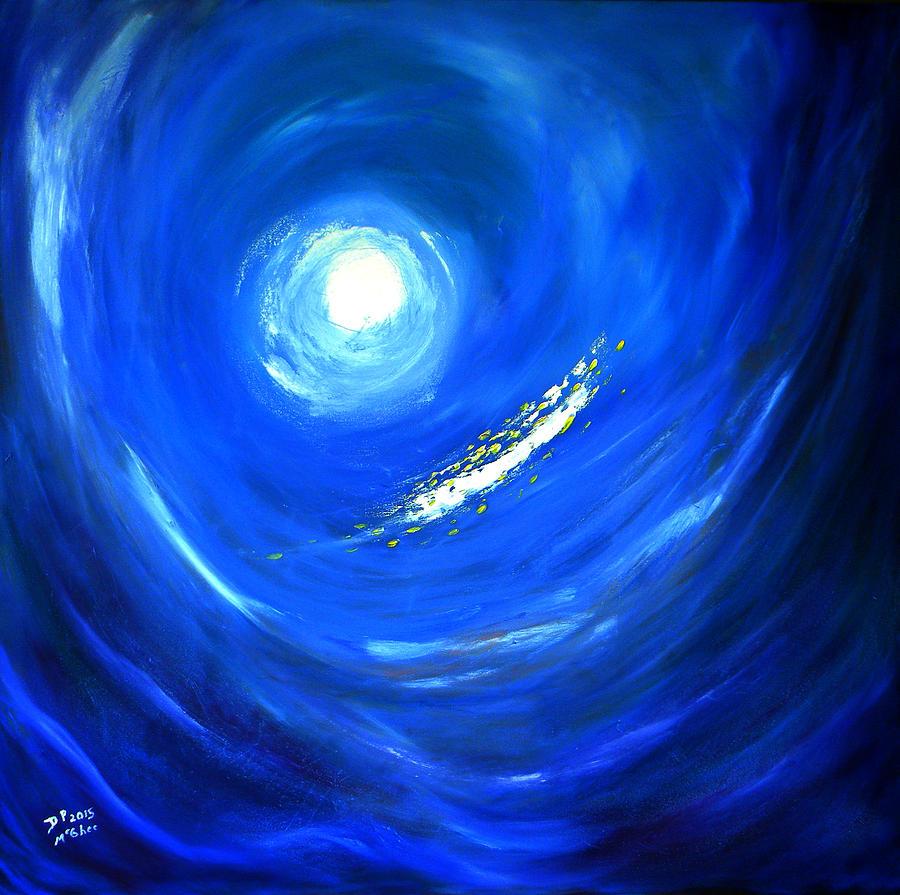 Ocean Painting - Ocean View by David McGhee