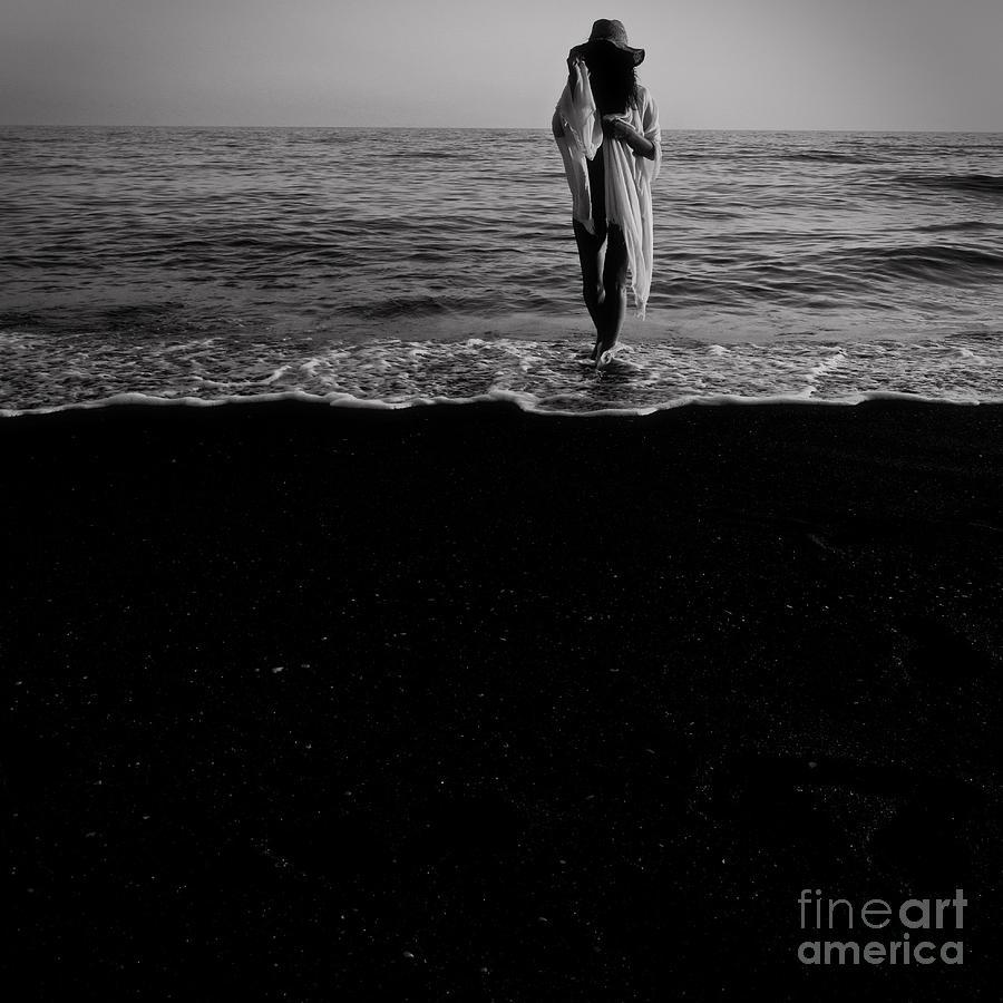 Nude Photograph - Ocean Walk by Stefanoff Transylvania