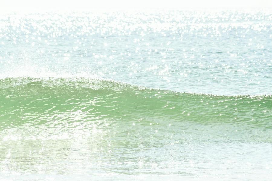 Ocean Waves Photograph - Ocean Wave 13 by Cattie Coyle