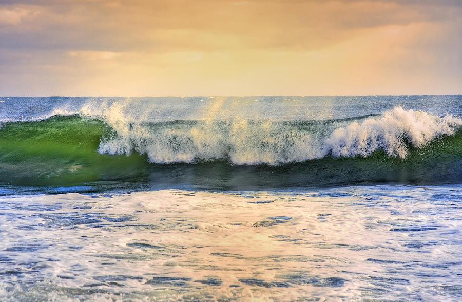 Ocean Waves Photograph - Ocean Waves by Dapixara Art