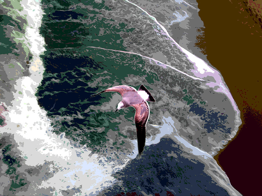 Ocean Waves Photograph - Ocean Waves by John Lautermilch