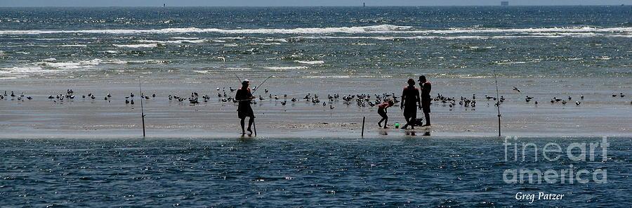 Atlantic Ocean Photograph - Ocean Way by Greg Patzer