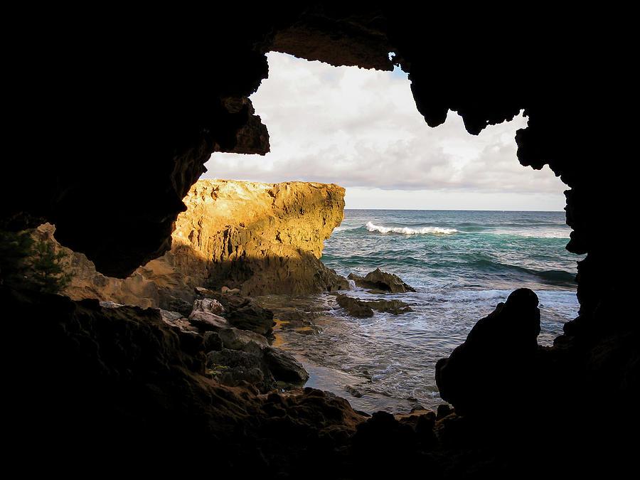 Oceanfront Cave by Daniel Murphy