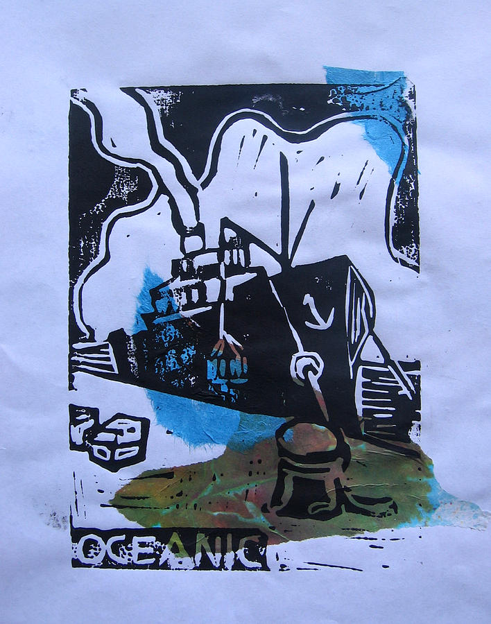 Boat Mixed Media - Oceanic by Adam Kissel