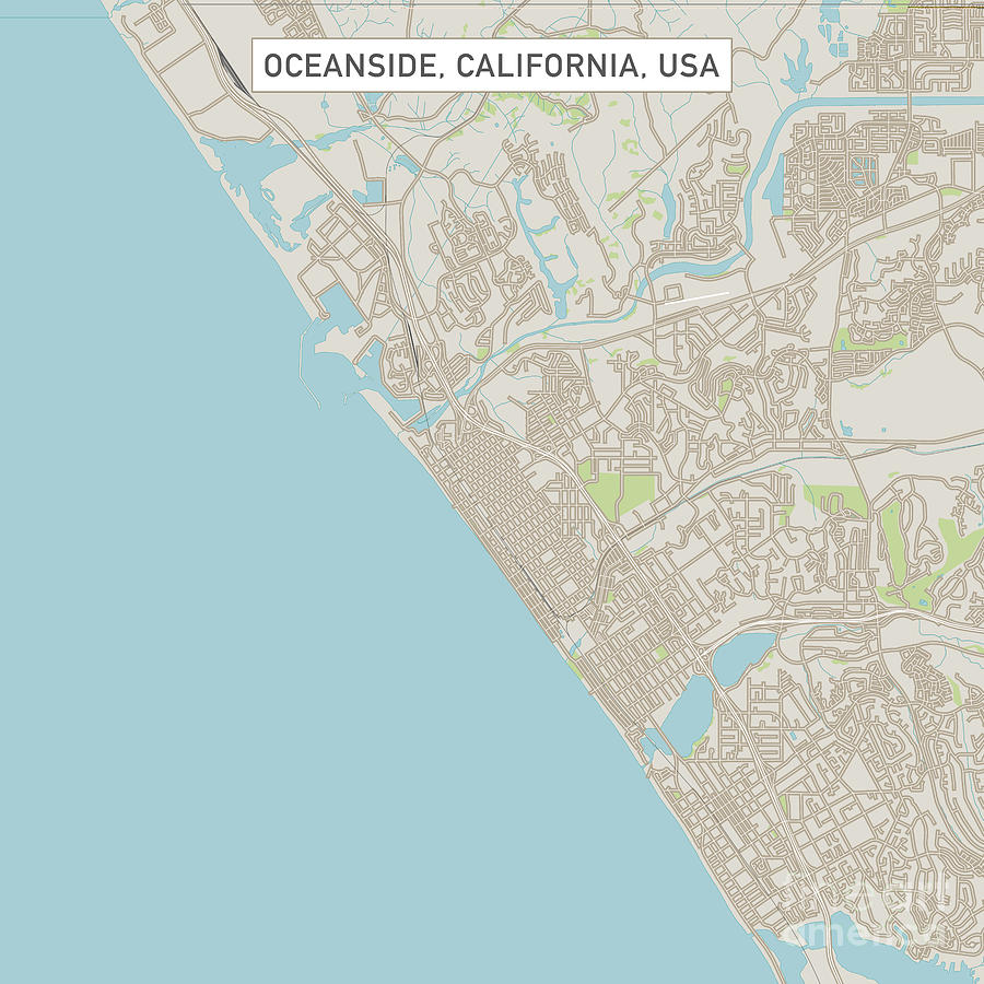 Oceanside California Us City Street Map by Frank Ramspott on barstow california map, riverside california map, oxnard california map, ocotillo wells california map, catalina island california map, san nicolas island california map, glendora california map, mountain view california map, oceanside mapquest, san diego california map, stockton california map, palm springs california map, french valley california map, orange california map, canoga california map, camp pendleton california map, grossmont california map, long island california map, loyalton california map, saratoga springs california map,