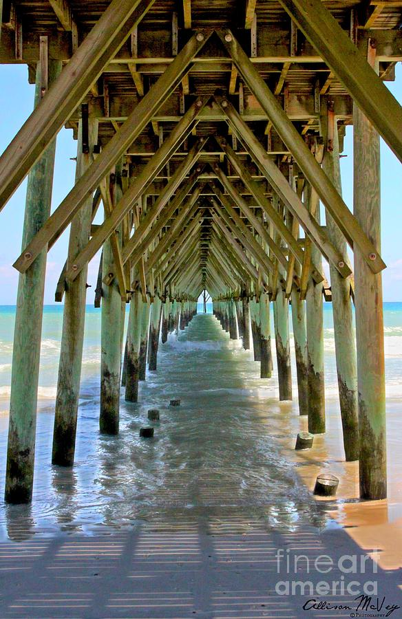 Beach Photograph - Oceanside Cathedral by Allison McVey