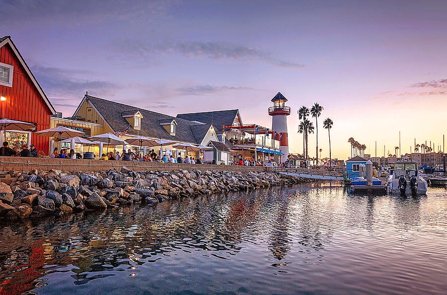 Oceanside Digital Art - Oceanside Harbor by Ann Patterson