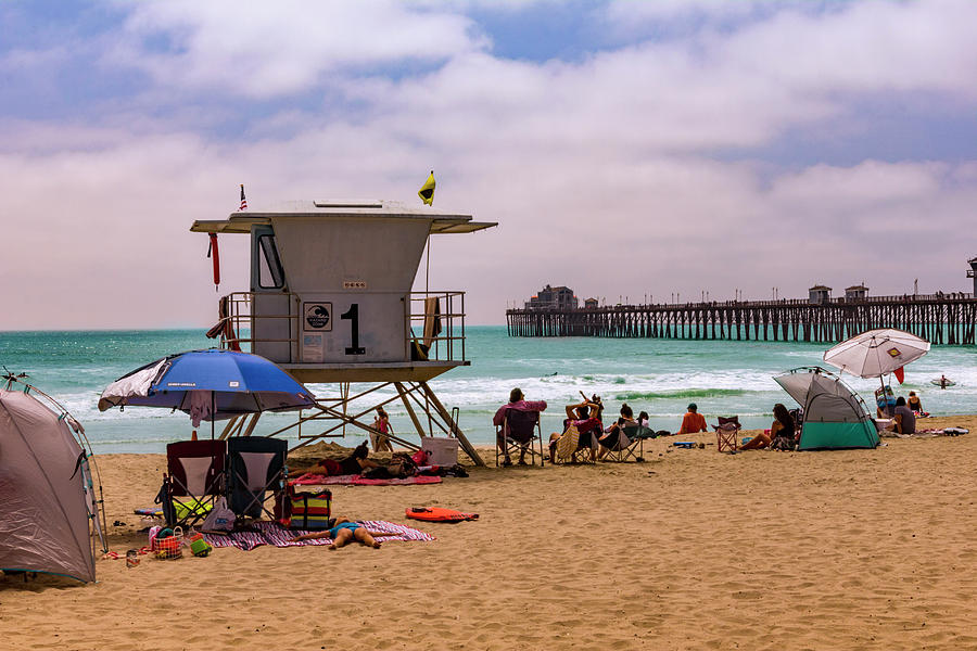 Oceanside Lifeguard by Bryant Coffey