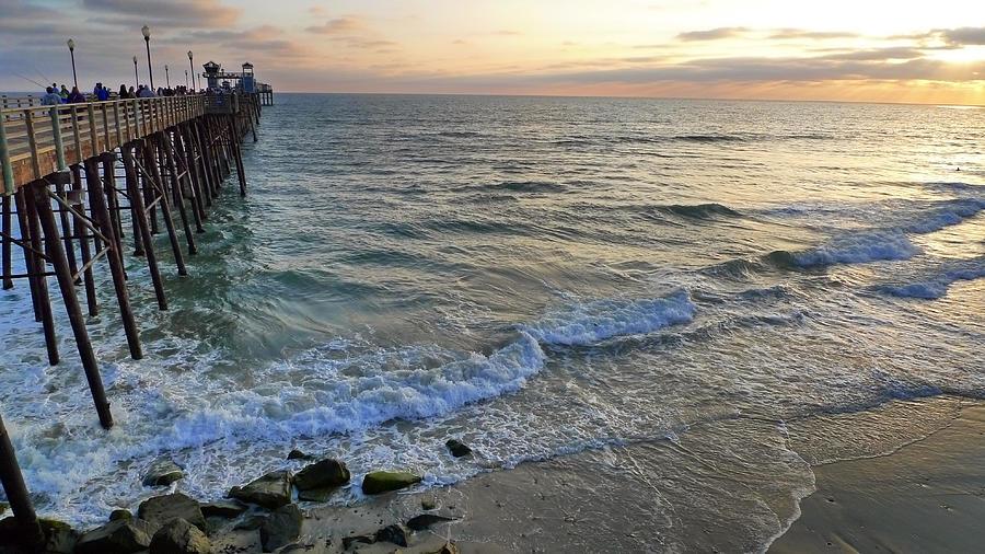 Oceanside Photograph - Oceanside by Skip Hunt