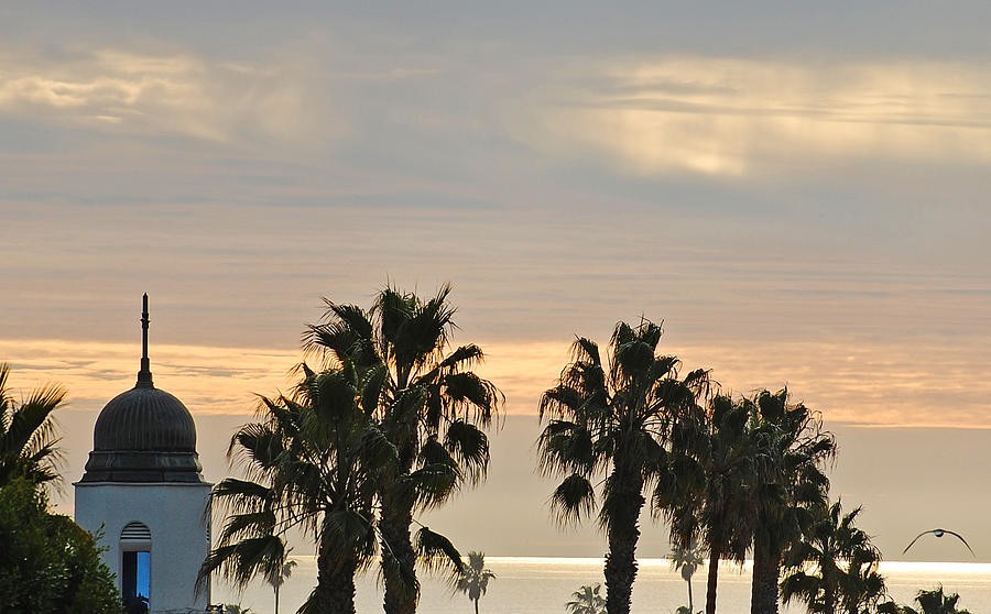 Oceanside Photograph - Oceanside Sky by Jean Booth