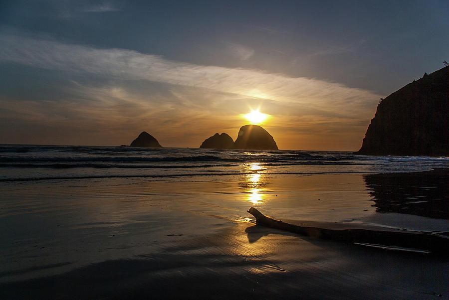 Oceanside Sunset 2 by Ken Dietz