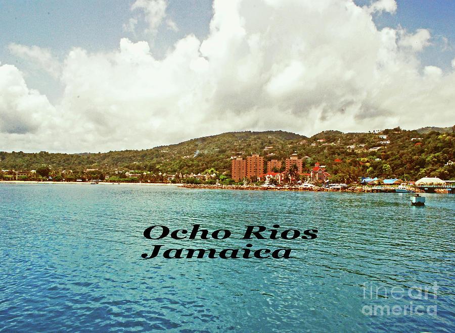 Jamaica Photograph - Ocho Rios Jamaica by Gary Wonning