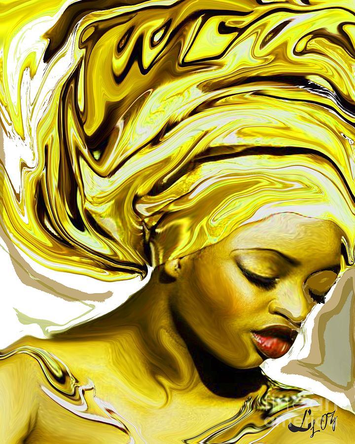 Ochun Mixed Media - Ochun Ede by Liz Loz