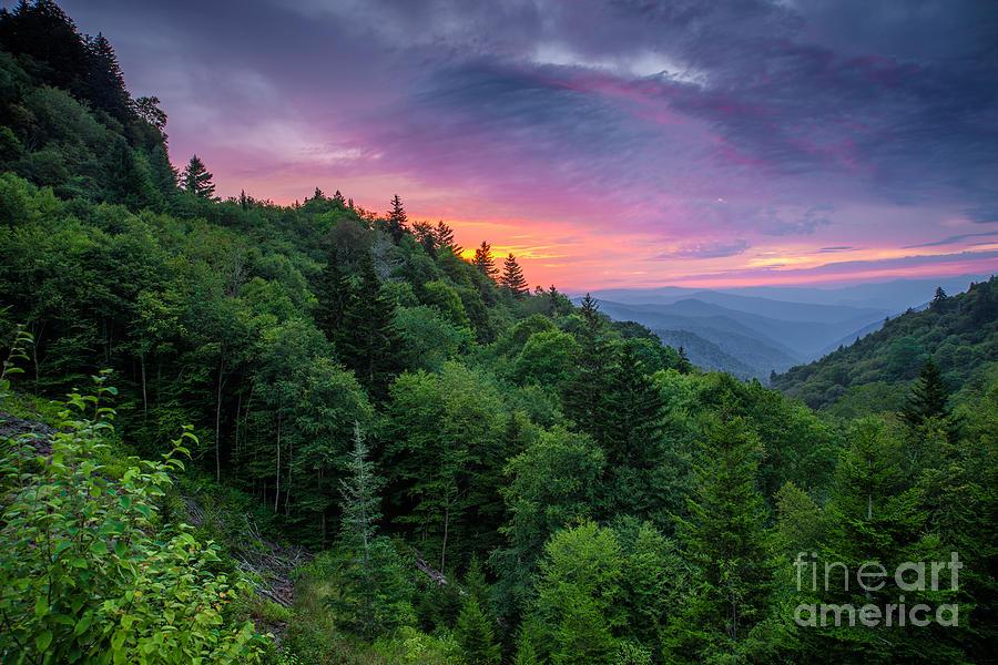 Great Smoky Mountains Photograph - Oconaluftee No3. by Itai Minovitz