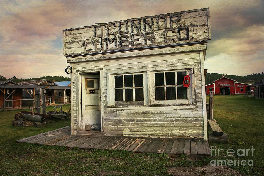 Lumber Photograph - Oconnor Lumber Co by Lynn Sprowl