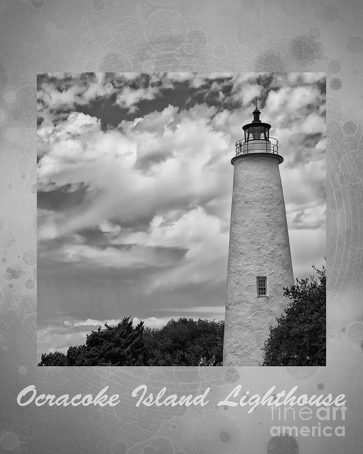 Atlantic Photograph - Ocracoke Island Lighthouse Poster by Tom Gari Gallery-Three-Photography