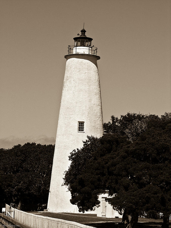 Ocracoke Lighthouse by Ches Black